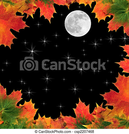 Fantasy Maple Leaf Beauty - csp2207468