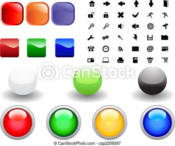 icon collection - csp2209297