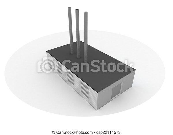 Power station - csp22114573