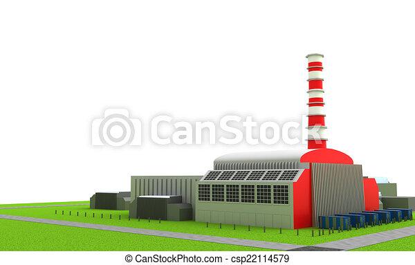 Power station - csp22114579