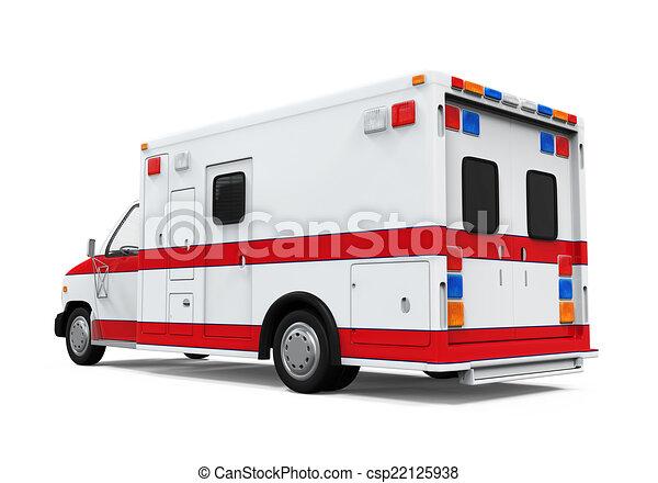Ambulance Car Drawing Ambulance Car Csp22125938
