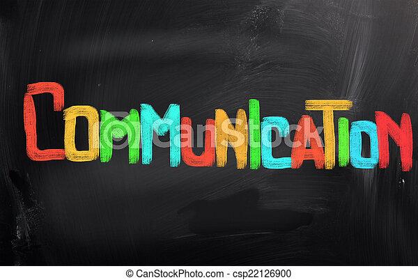 コミュニケーション, 概念 - csp22126900