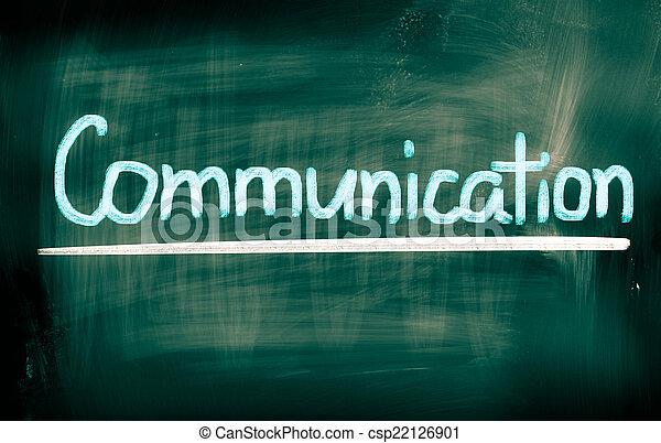 コミュニケーション, 概念 - csp22126901