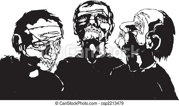 Blind Men - csp2213479