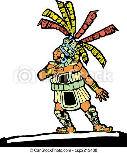 Mayan Ballplayer #2 - csp2213488