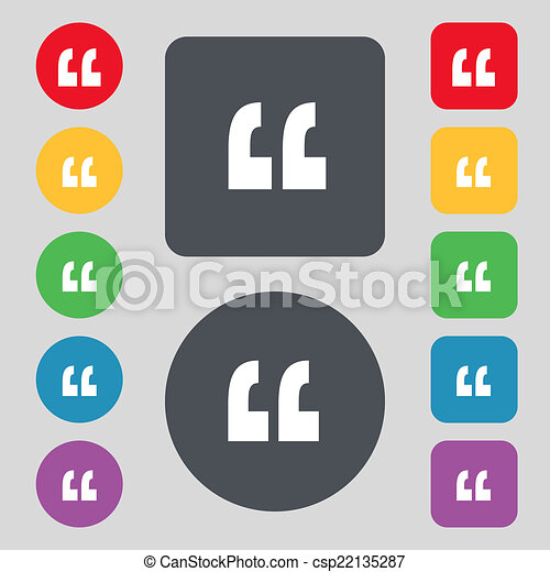 Quote Icons Free Quote Sign Icon
