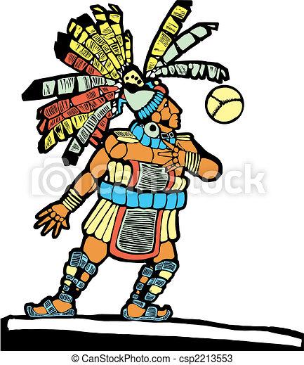 Mayan Ballplayer #1 - csp2213553