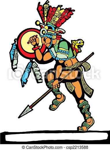Mayan Warrior #2 - csp2213588