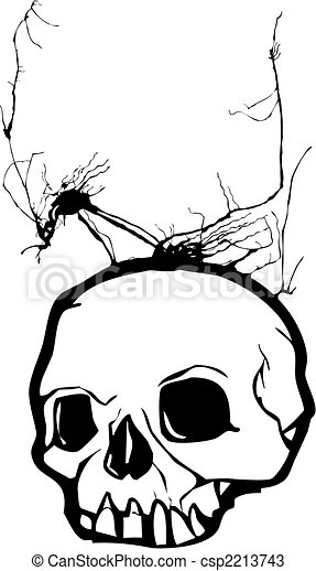 Weed Skull - csp2213743