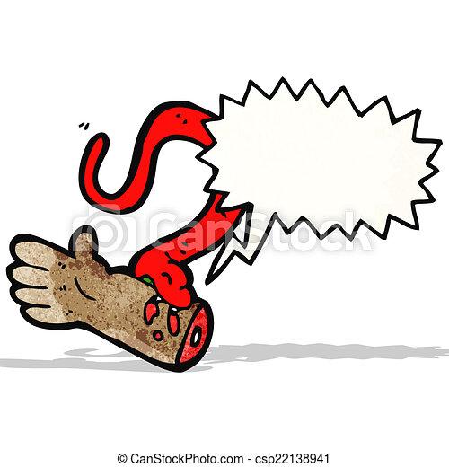 Vettore eps di morso cartone animato serpente cartone - Cartone animato immagini immagini fantasma immagini ...