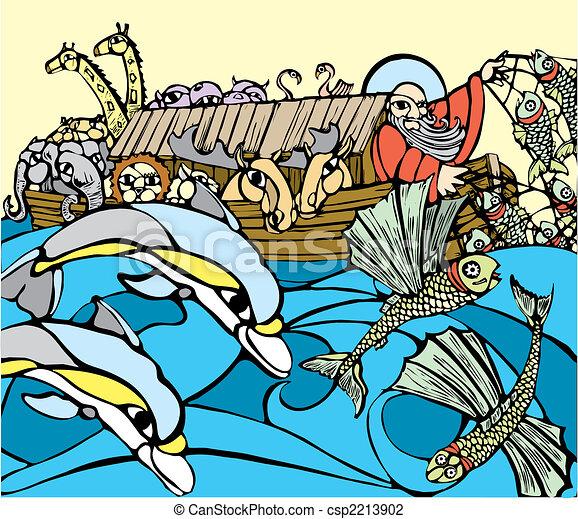 Noah's Ark - csp2213902