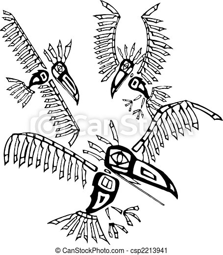 Three Ravens - csp2213941