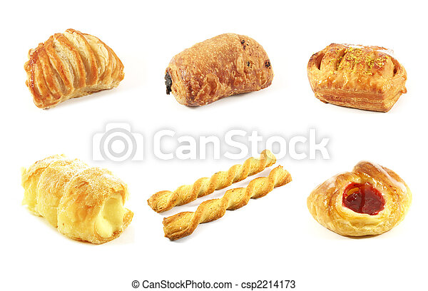 Danish Pastries - csp2214173