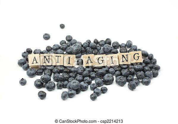 Anti Aging Blueberries - csp2214213