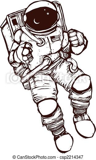 Space Suit - csp2214347