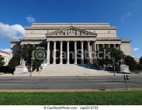 National Archives Washington DC - csp2214733