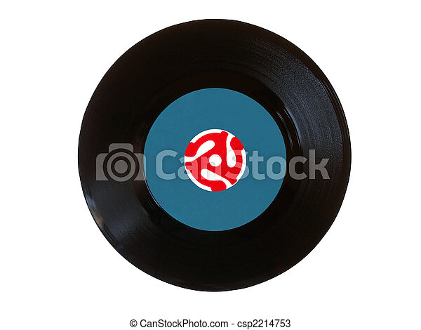 Vinyl 45 rpm disk - csp2214753