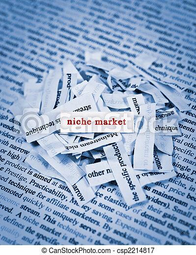 nicho, Mercado - csp2214817