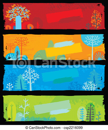 Nature Banners - csp2216099