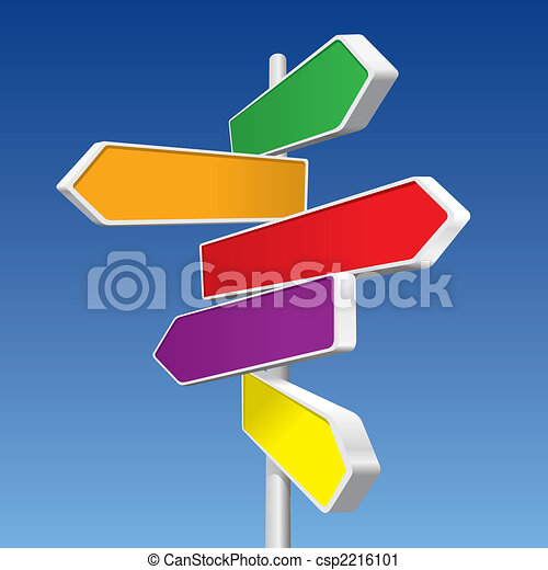 Directional Signs - csp2216101
