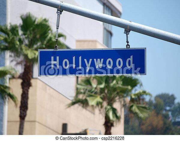Hollywood Sign - csp2216228