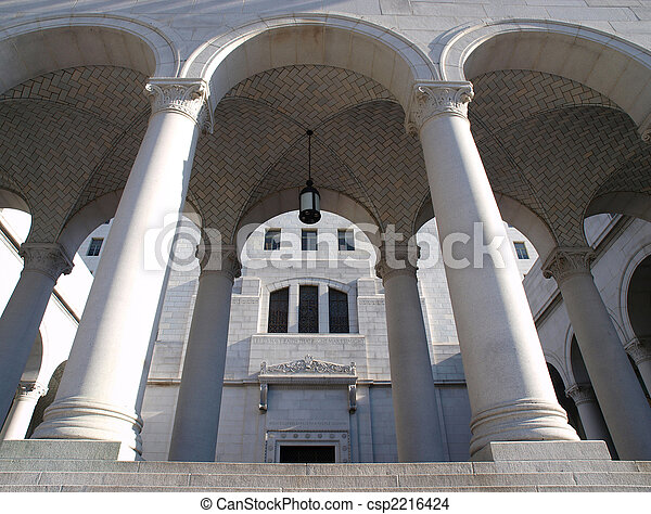 City Hall Arches - csp2216424
