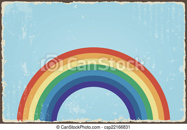 Abstract Background In Rainbow Colours Stock Photo, Picture And ...