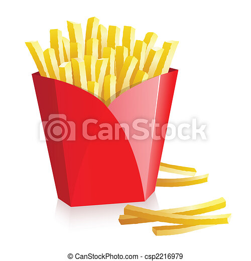 French fries - csp2216979