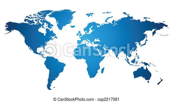 World map - csp2217081