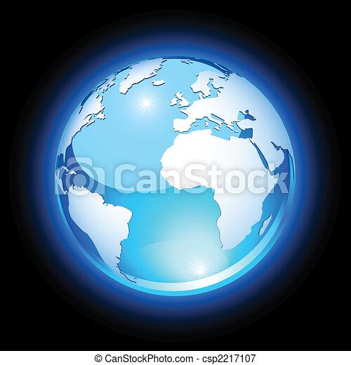 Crystal earth - csp2217107
