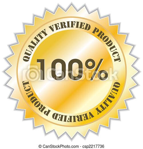 Quality label - csp2217736