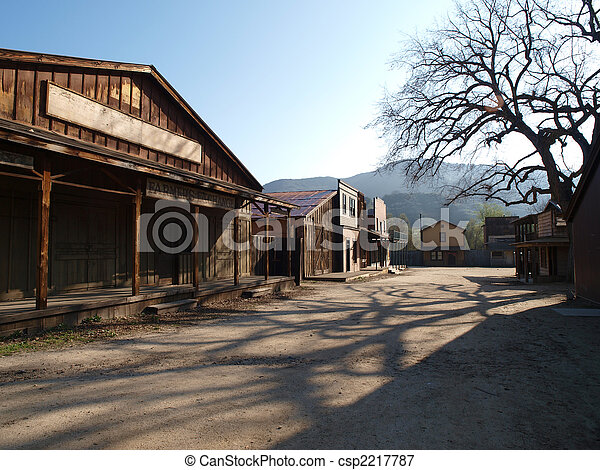 Old Movie Ranch - csp2217787
