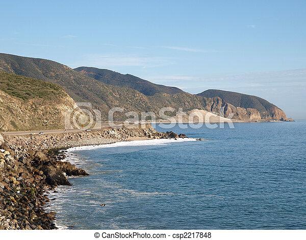 Southern California Coast - csp2217848