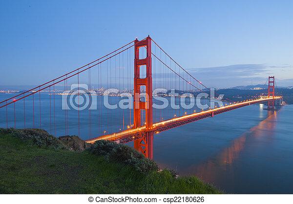 Golden Gate Bridge - csp22180626