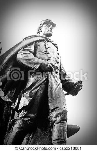 Civil War Solider - csp2218081