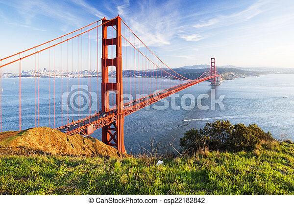 Golden Gate Bridge - csp22182842