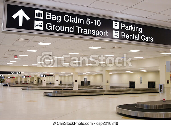 Airport Terminal - csp2218348