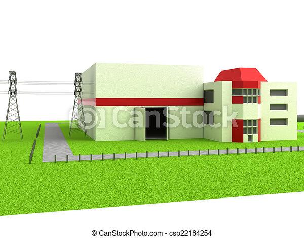 Power station - csp22184254