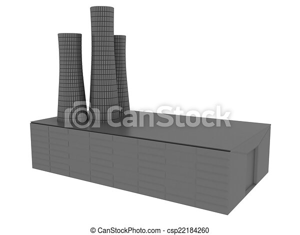 Power station - csp22184260