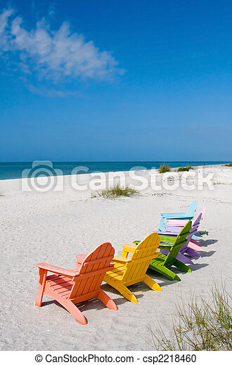Summer Vacation Beach - csp2218460