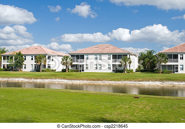 Golf Course Condos - csp2218645