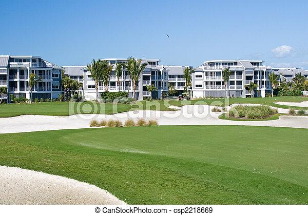 Golf Course Condos - csp2218669
