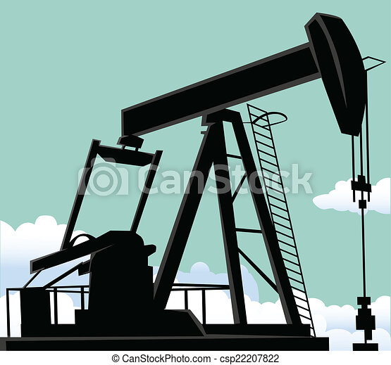 Vector Illustration of Oil well csp22207822 - Search ...  Vector Illustra...
