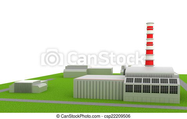 Power station - csp22209506