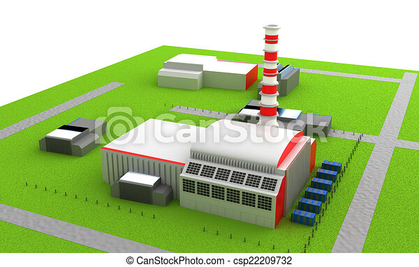 Power station - csp22209732