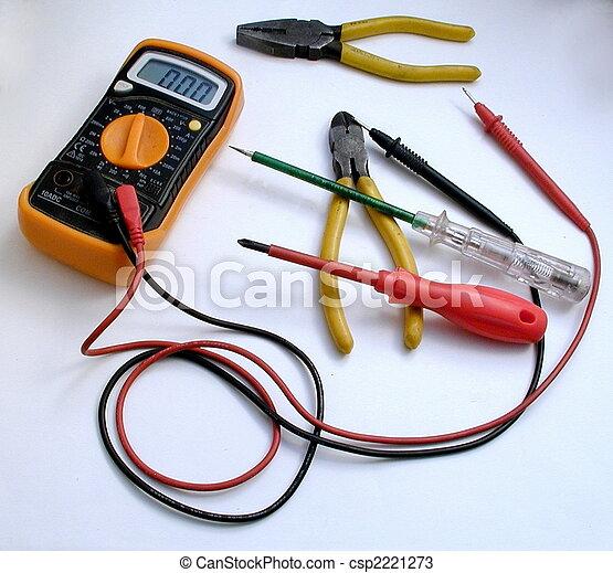 Electrician\'s Tools - csp2221273
