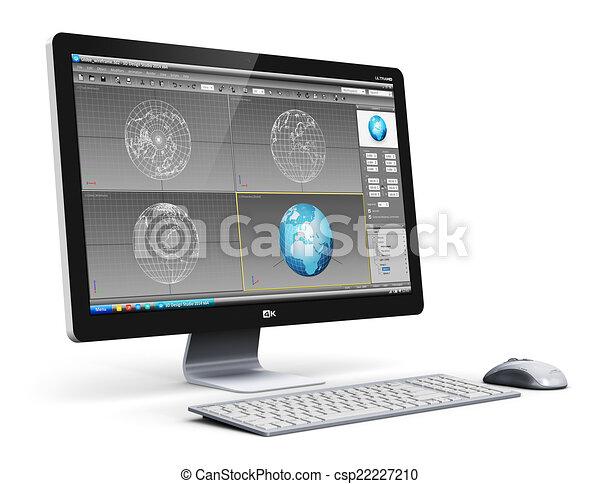 전문가, 탁상용 컴퓨터, 컴퓨터, 워크스테이션 - 창조, 요약, 현대 ...