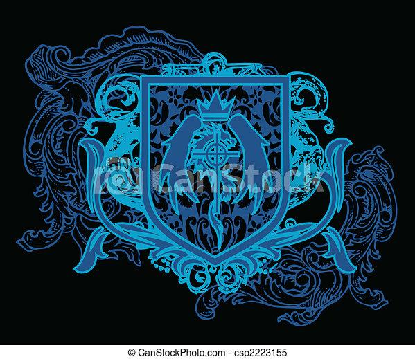 Heraldic Crest Element - csp2223155