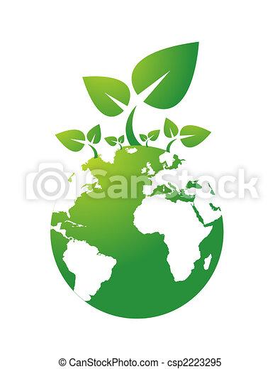 environmental icon - csp2223295
