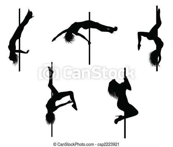 Pole dancer - csp2223921